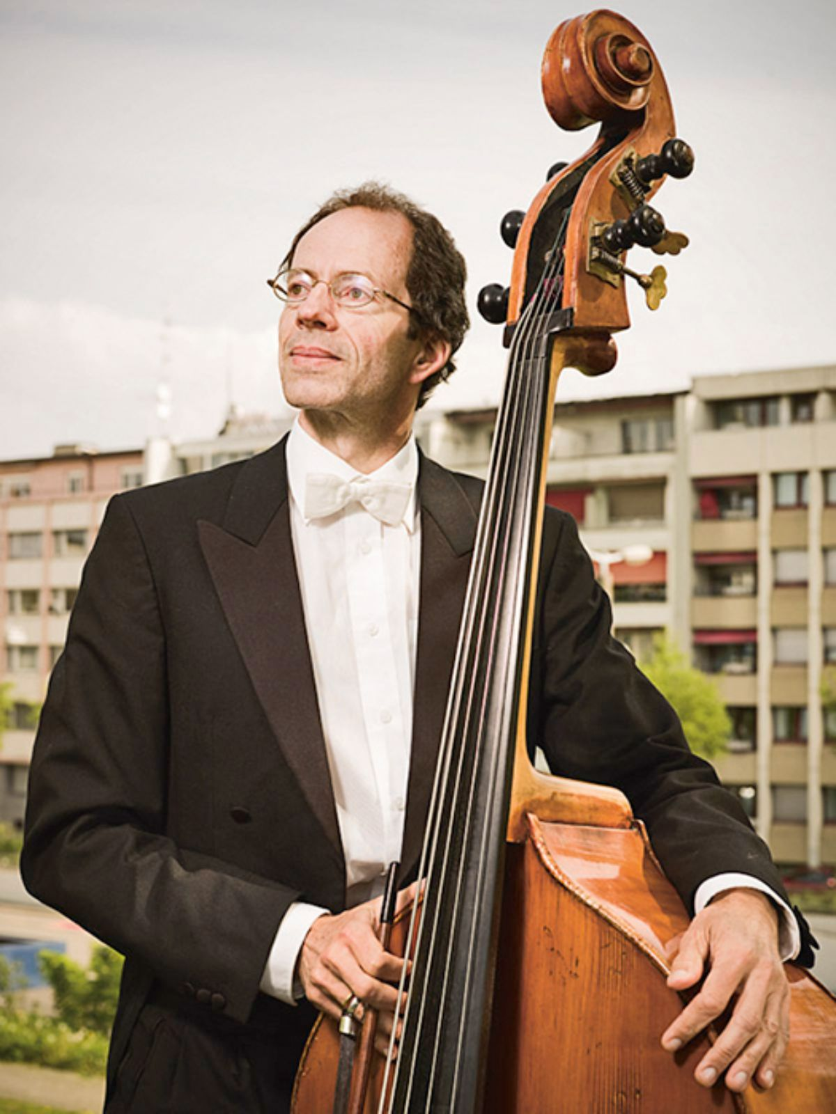 André Meyer, double bass