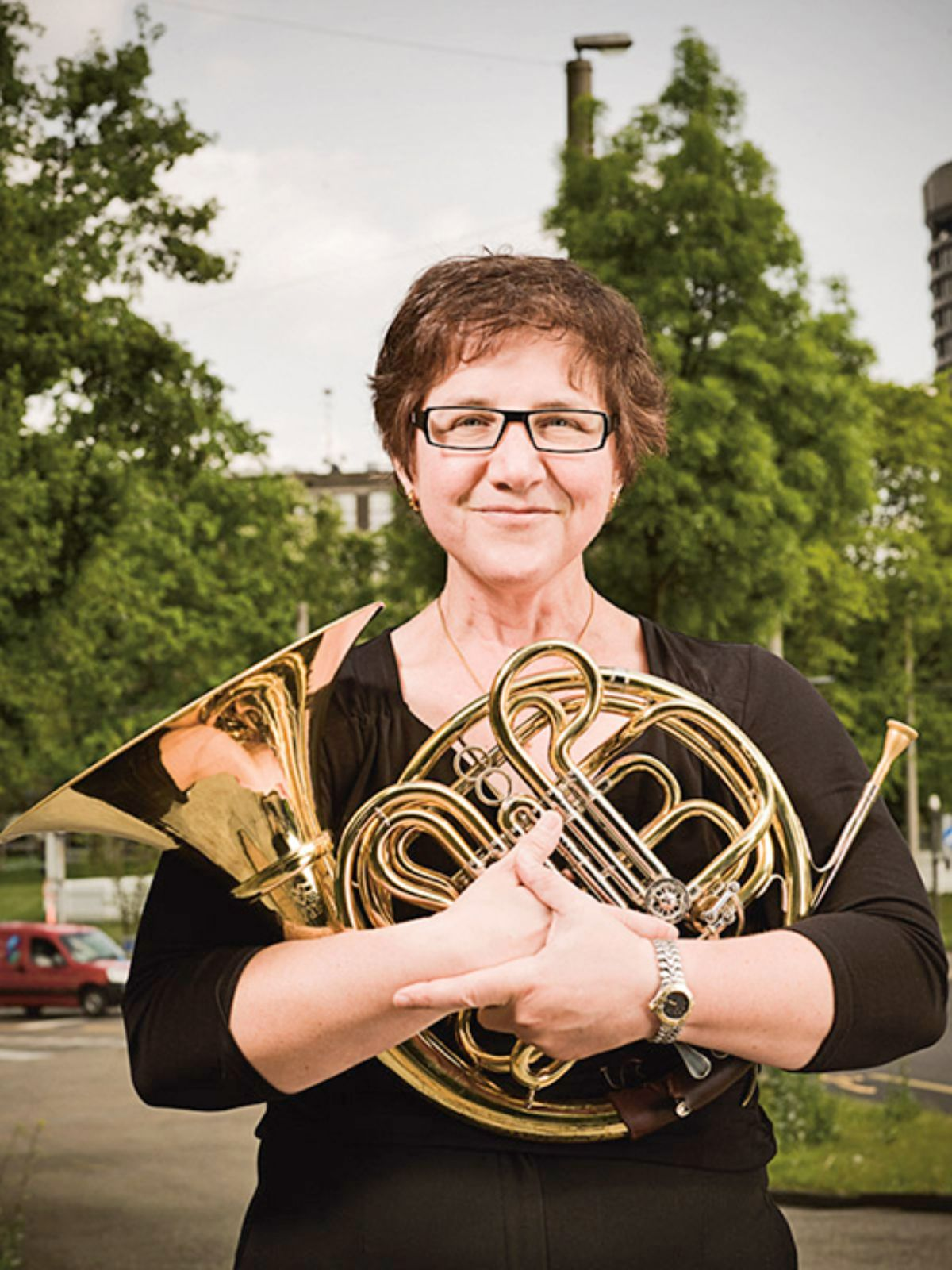 Diane Eaton, french horn