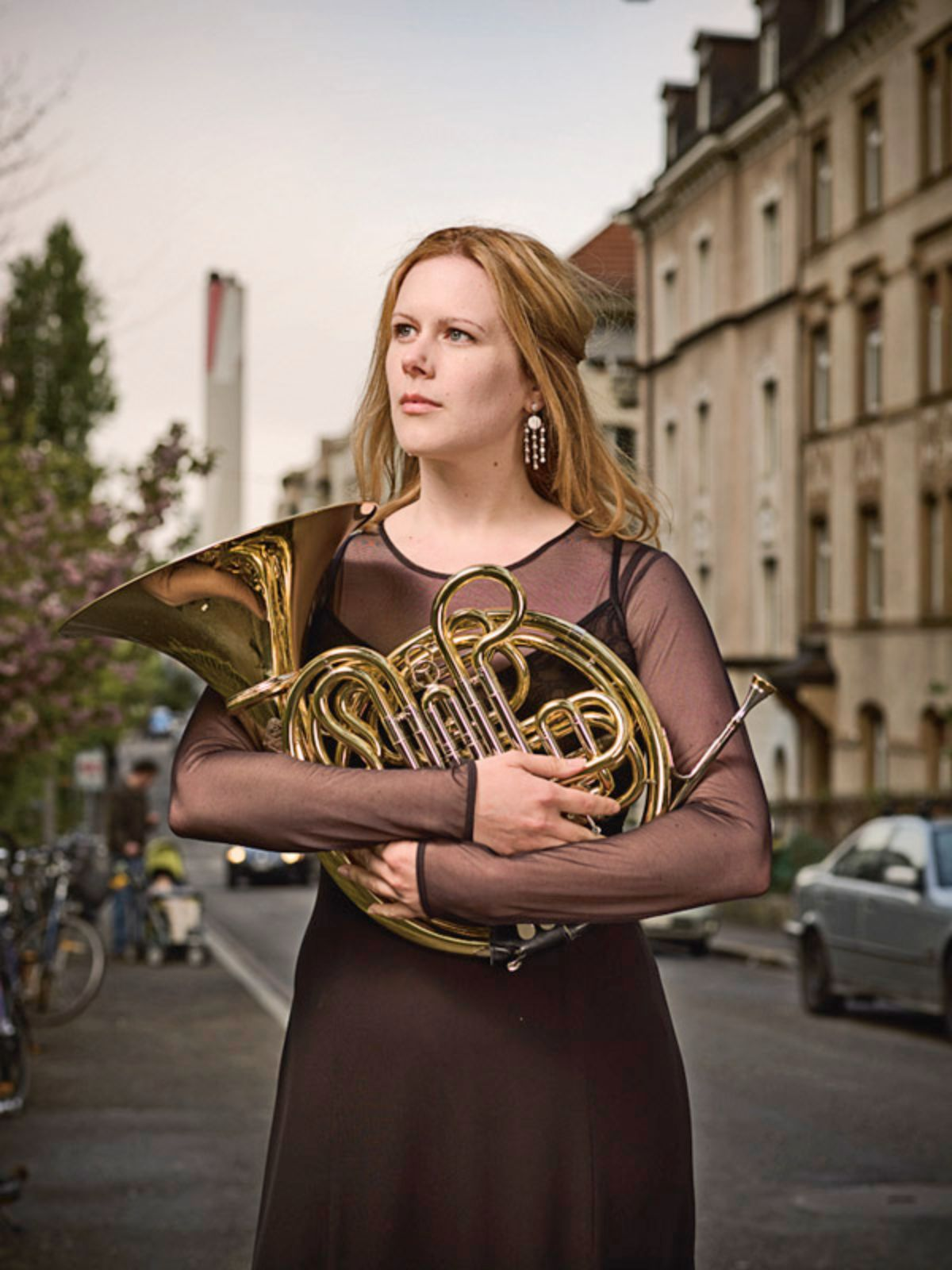 Megan McBride, french horn