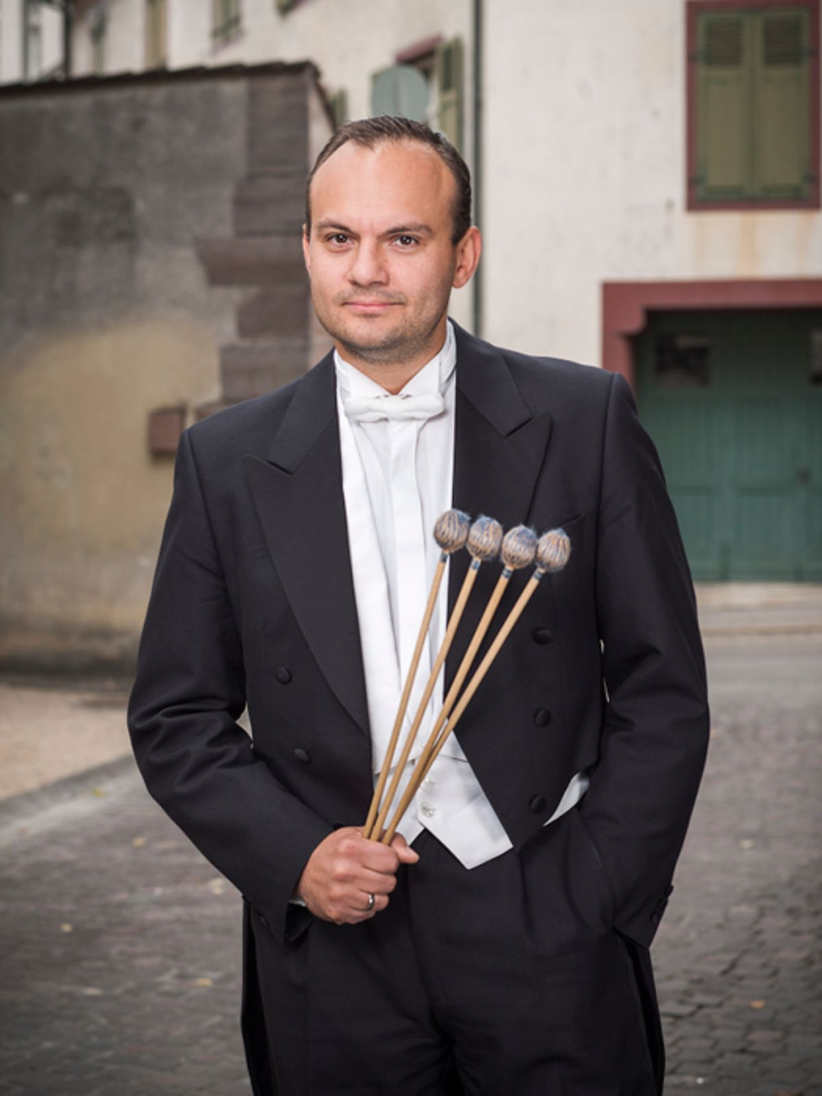 Adrian Romaniuc, percussion