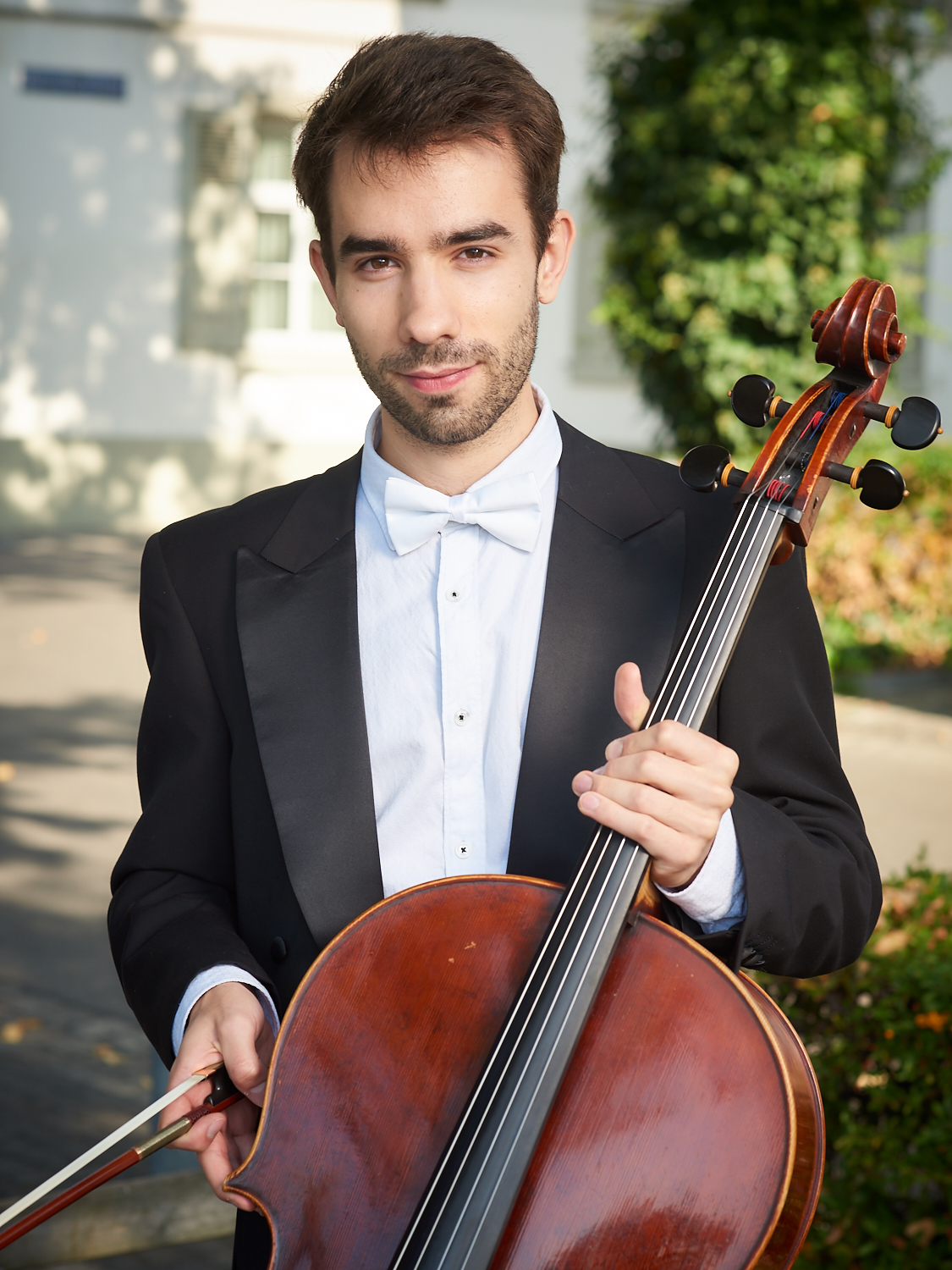 Antonin Musset, cello