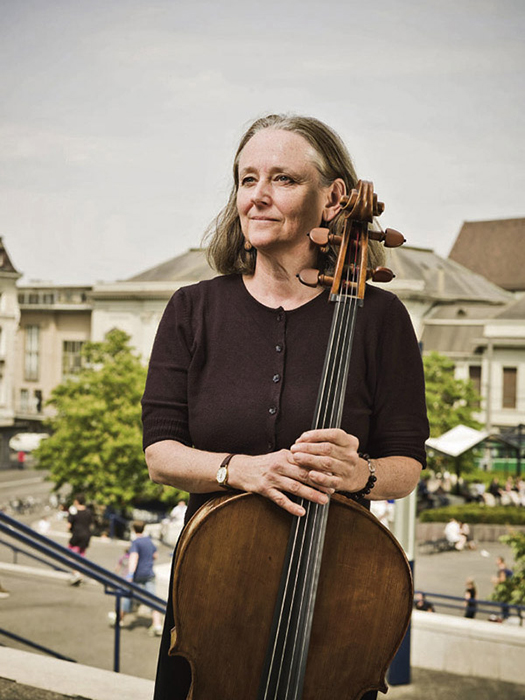 Gillian Harris, cello