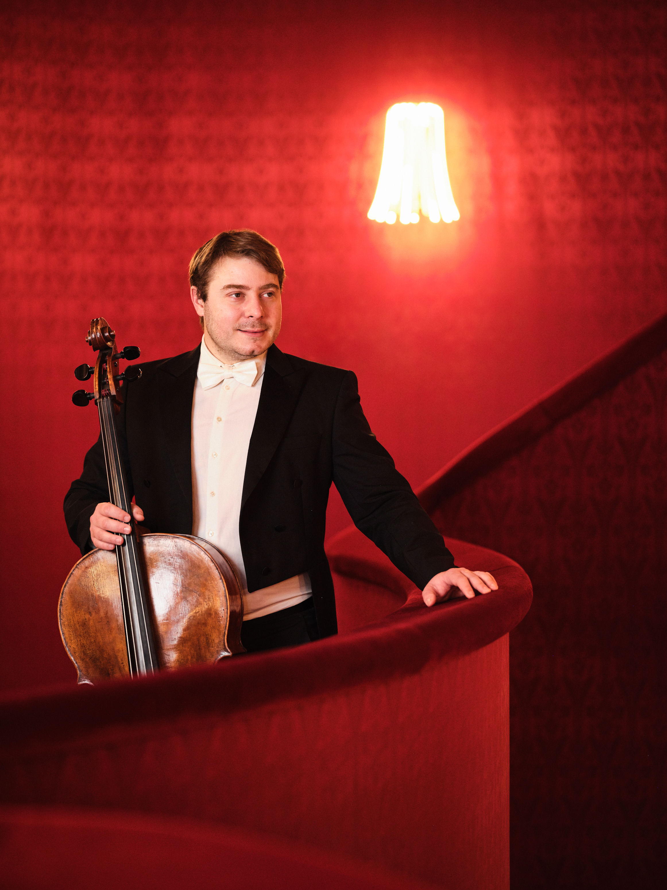 Benjamin Gregor-Smith, cello deputy Solo